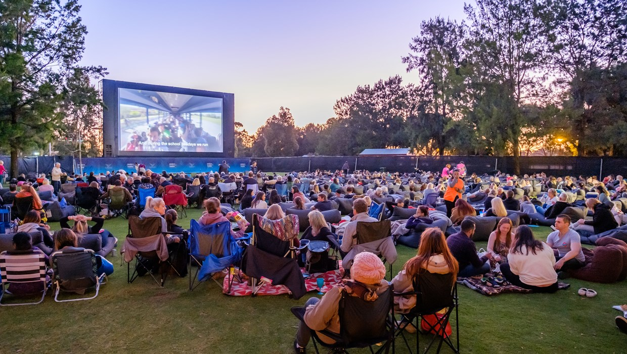 Telethon Cinemas – one of Perth's much-loved charity events hosted at Burswood Park.
